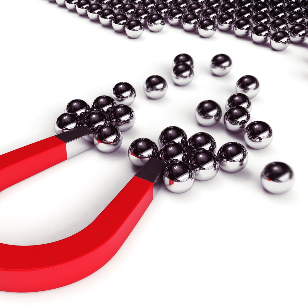 Production of uniform and dry paramagnetic beads