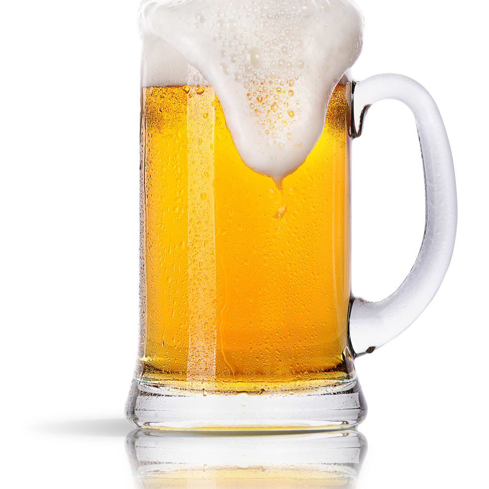 Alcohol determination in beer