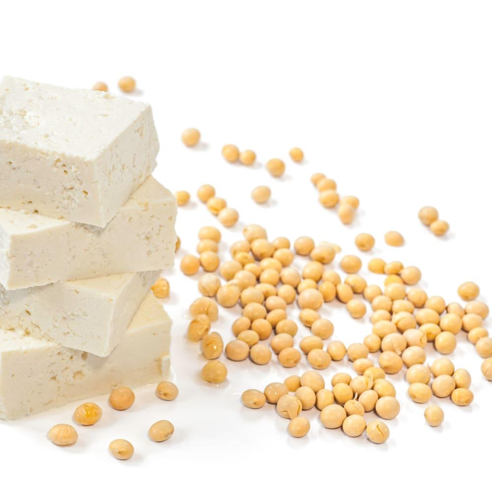 Nitrogen and protein determination in tofu