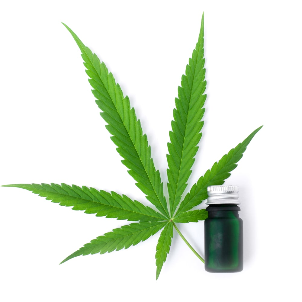 Separation of cannabinoids by Flash chromatography