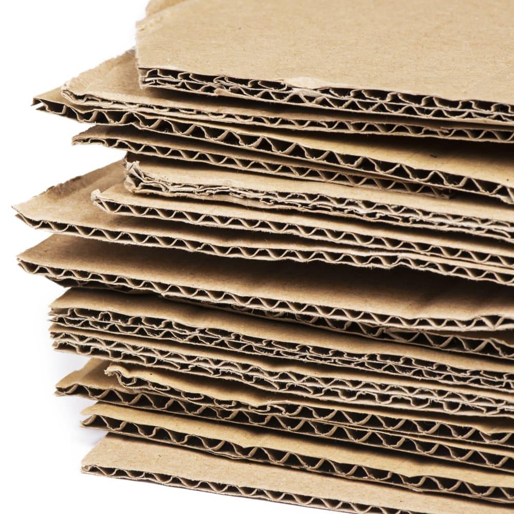 Mineral oil contamination in cardboard