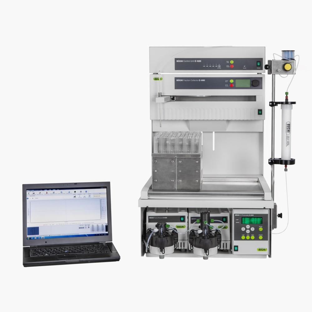 中压制备色谱完整系统 Sepacore X10 / X50