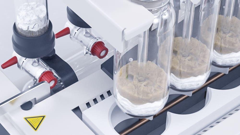 Hidrolisis asam yang sesuai untuk penentuan lemak total